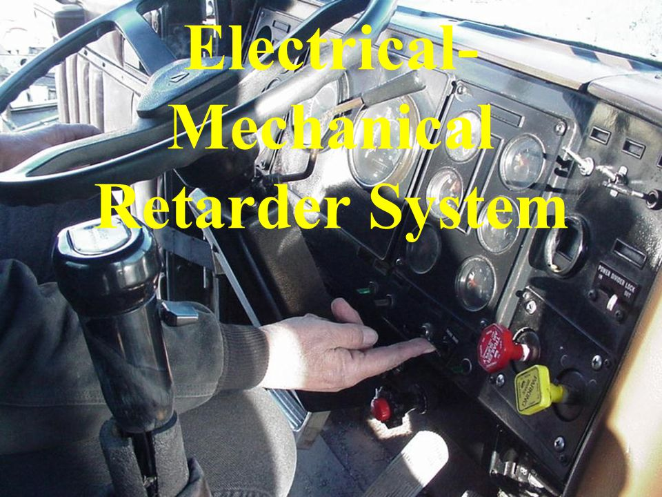Electrical- Mechanical Retarder System