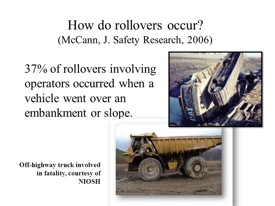 How do rollovers occur.(McCann, J.