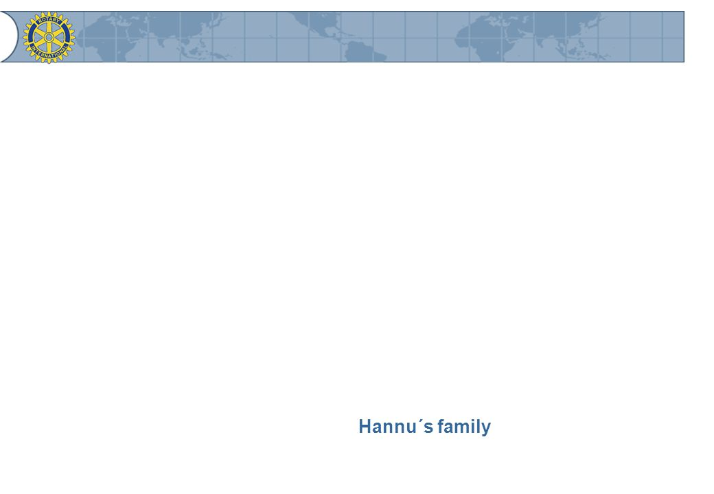 Hannu´s family