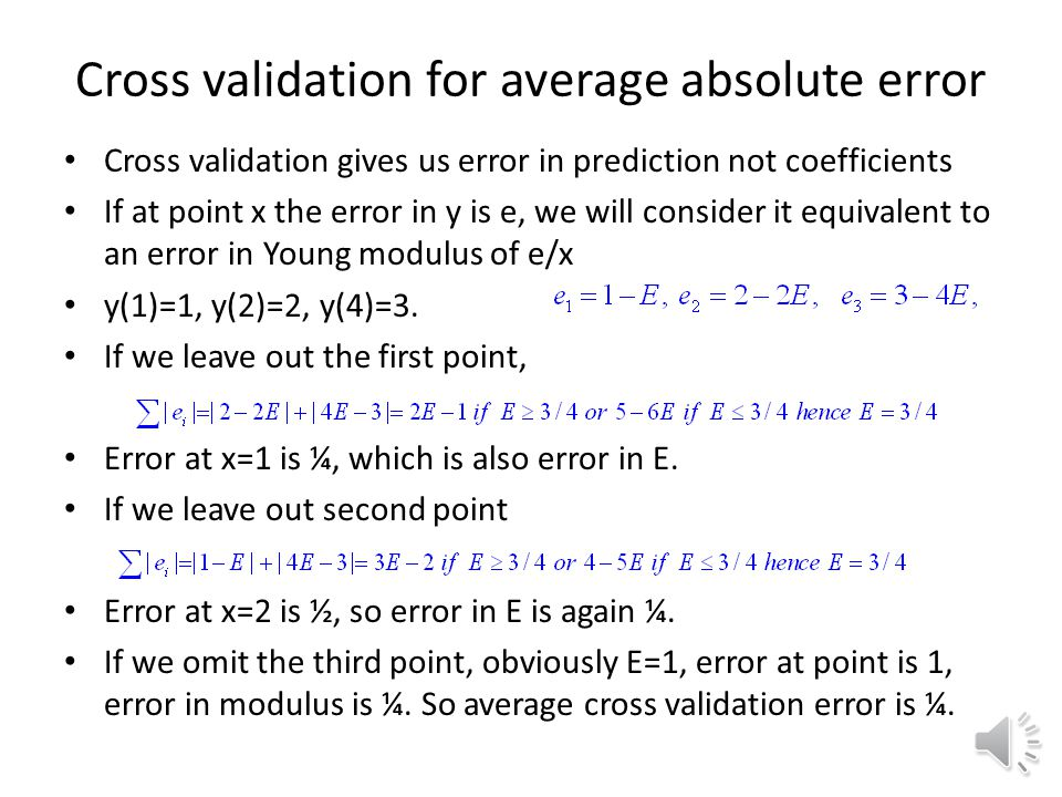 Sketch of fits Average absolute error has linear objective so it ends at the extreme range.