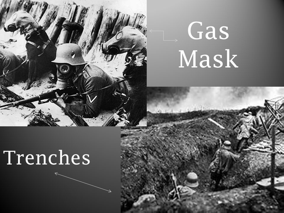 Gas Mask Trenches