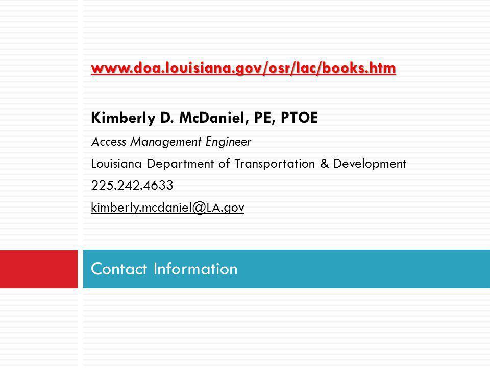 www.doa.louisiana.gov/osr/lac/books.htm Kimberly D.