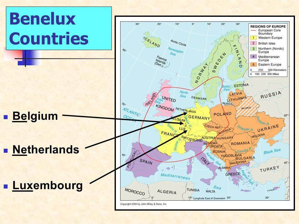 Benelux Countries Belgium Netherlands Luxembourg