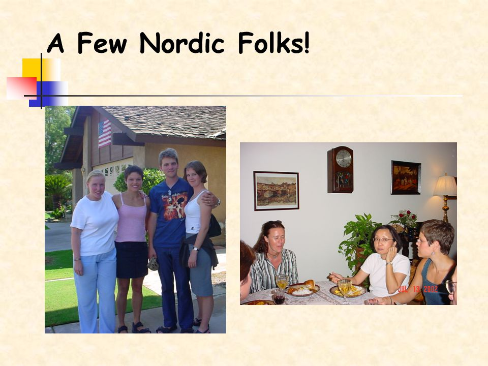 A Few Nordic Folks!