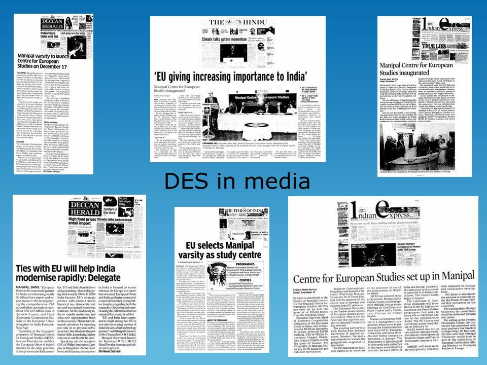 DES in media
