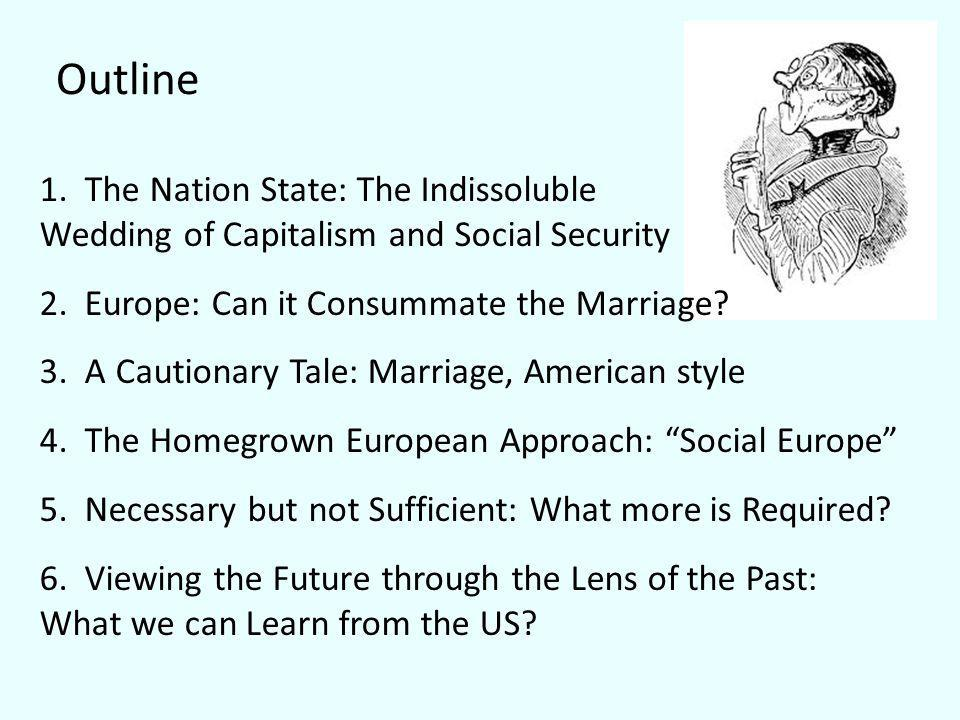Outline 1. The Nation State: The Indissoluble Wedding of Capitalism and Social Security 2.