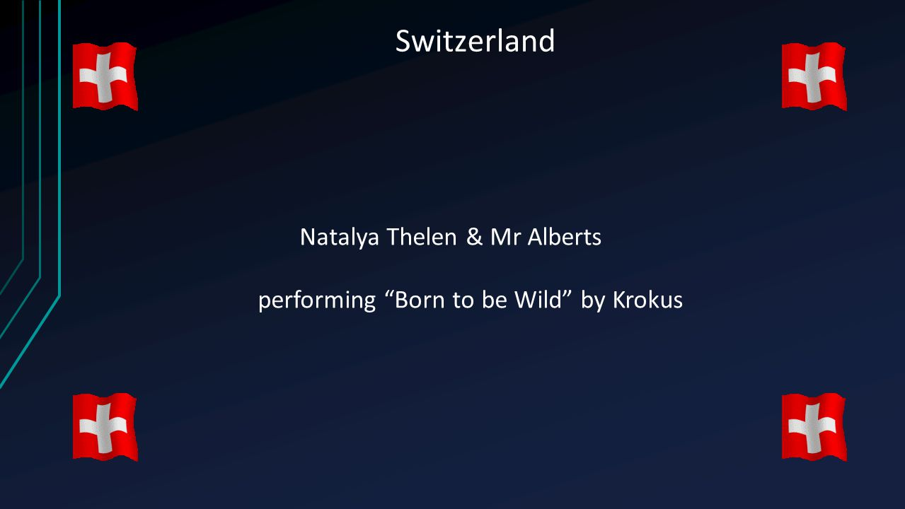 "Switzerland Natalya Thelen & Mr Alberts performing ""Born to be Wild"" by Krokus"