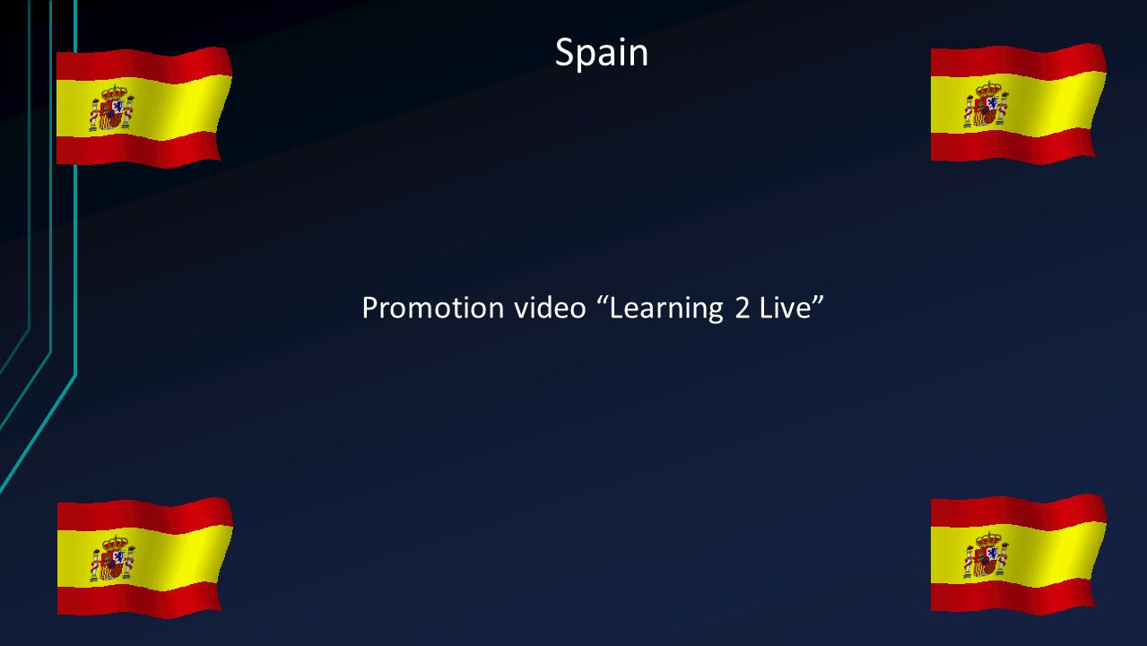 "Spain Promotion video ""Learning 2 Live"""