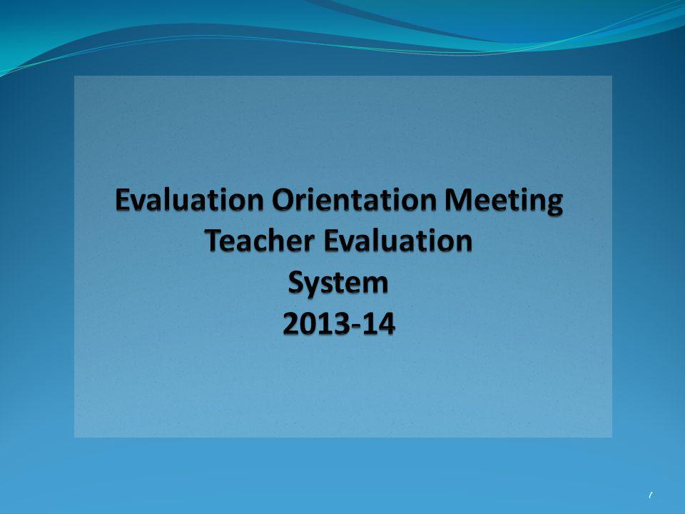 2 Evaluation Framework