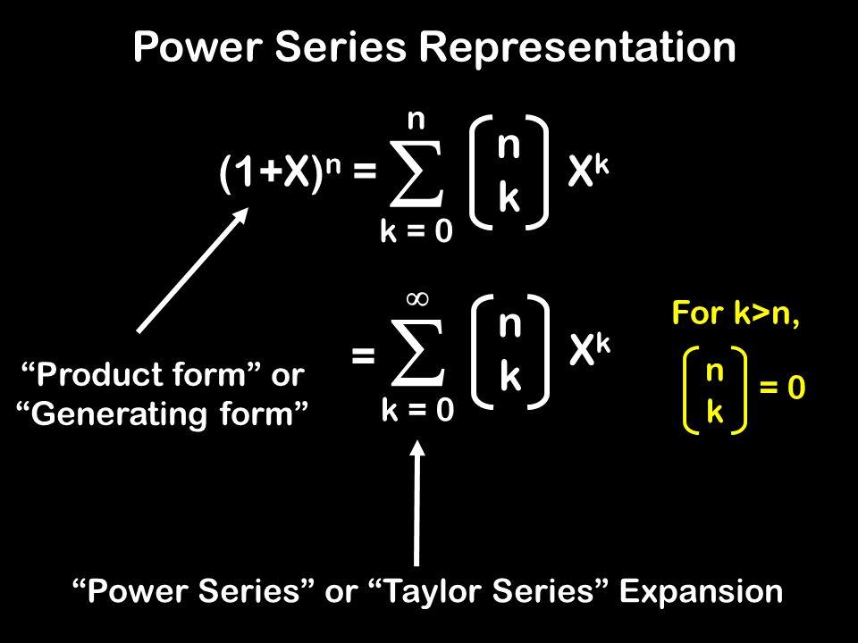 Formal Power Series The vector V .