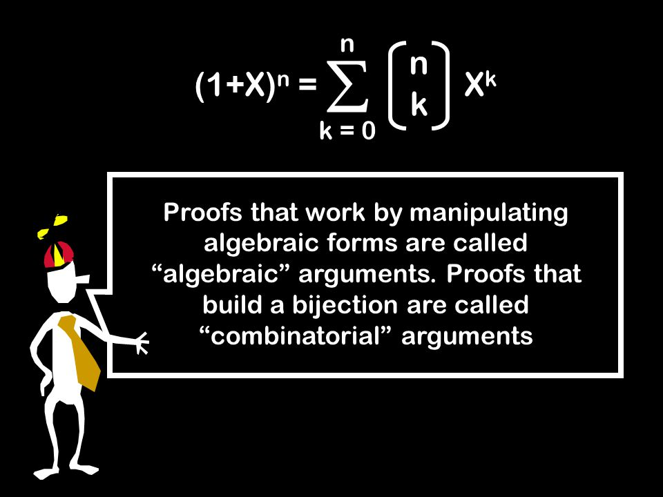 Polynomials count Binomial formula Combinatorial proofs of binomial identities Vector programs Here's What You Need to Know…