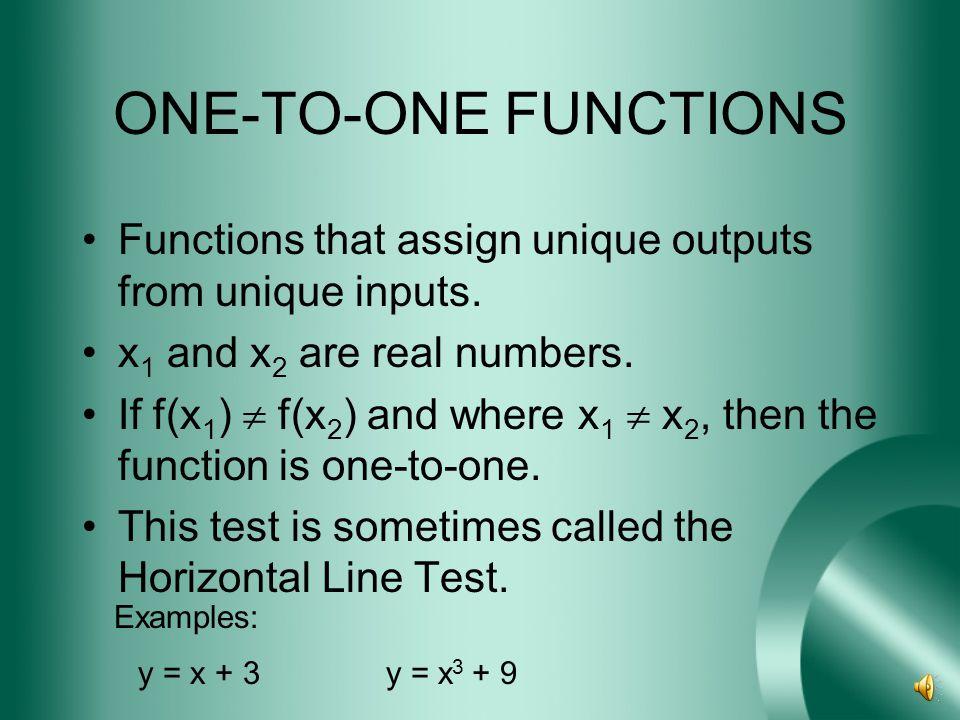 EVEN & ODD FUNCTIONS EVEN FUNCTIONSODD FUNCTIONS Ex. y = x 2 Ex. y = x 3