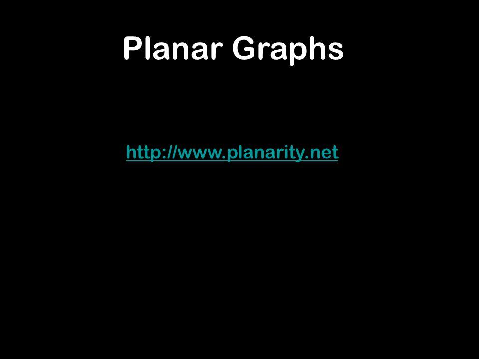 http://www.planarity.net Planar Graphs