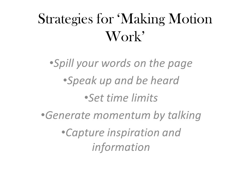 Power Writing: A Word Spilling Strategy Teacher displays two words.