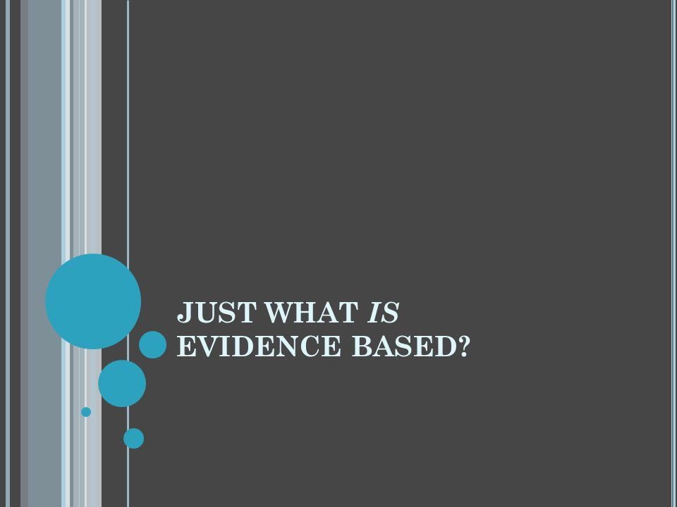 Glasziou P.Why bother with evidence-based practice.