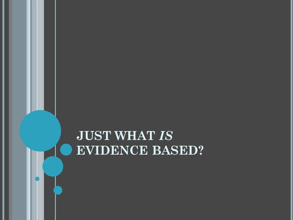 T ERMINOLOGY Evidence-Based Medicine (EBM) Evidence-Based Practice (EBP) Evidence-Based Practice in xxx (EBPx) Evidence-Based Health Care (EBHC) Evidence-Based Nursing (EBN) Evidence-Based Public Health (EBPH) Evidence Based Library and Information Practice (EBLIP) Research Based Evidence (RBE)