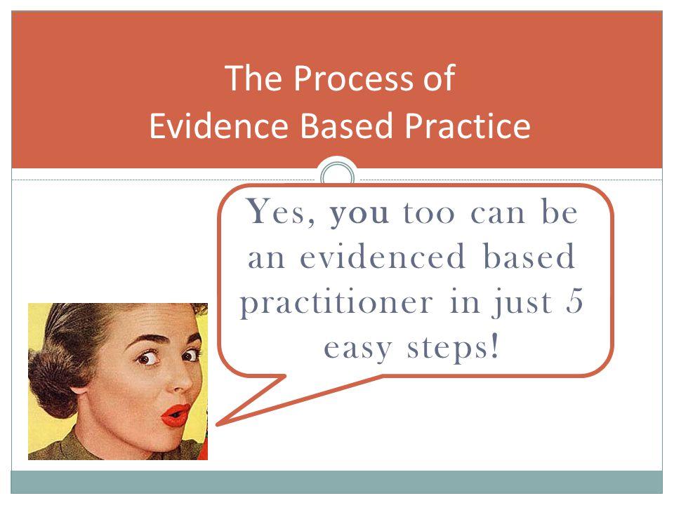 EBP Books on Evidence photos: amazon.com