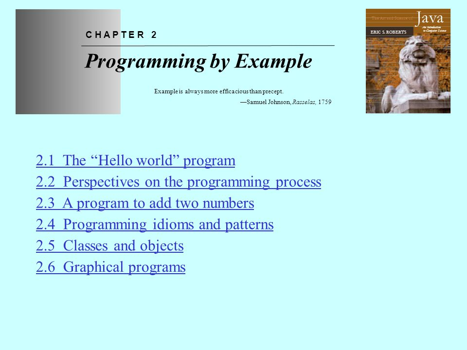 The Program Hierarchy Applet JApplet Program DialogProgramGraphicsProgramConsoleProgram Java class hierarchies are similar to the biological class hierarchy from the previous slide.