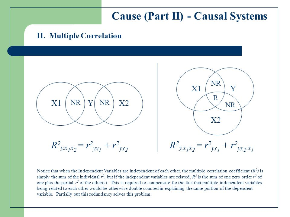 Cause (Part II) - Causal Systems II.