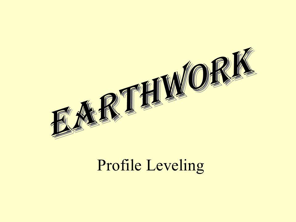 Earthwork Profile Leveling