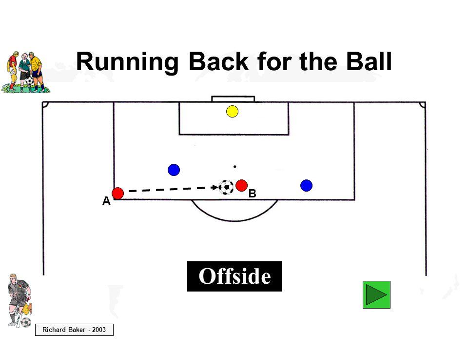 Richard Baker - 2003 Running Back for the Ball A Offside B