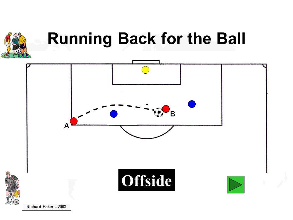 Richard Baker - 2003 Running Back for the Ball A B Offside
