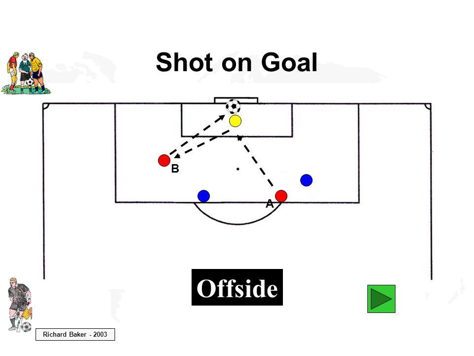 Richard Baker - 2003 Shot on Goal B A Offside