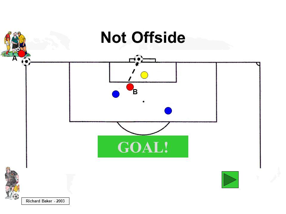 Richard Baker - 2003 Not Offside B GOAL! A