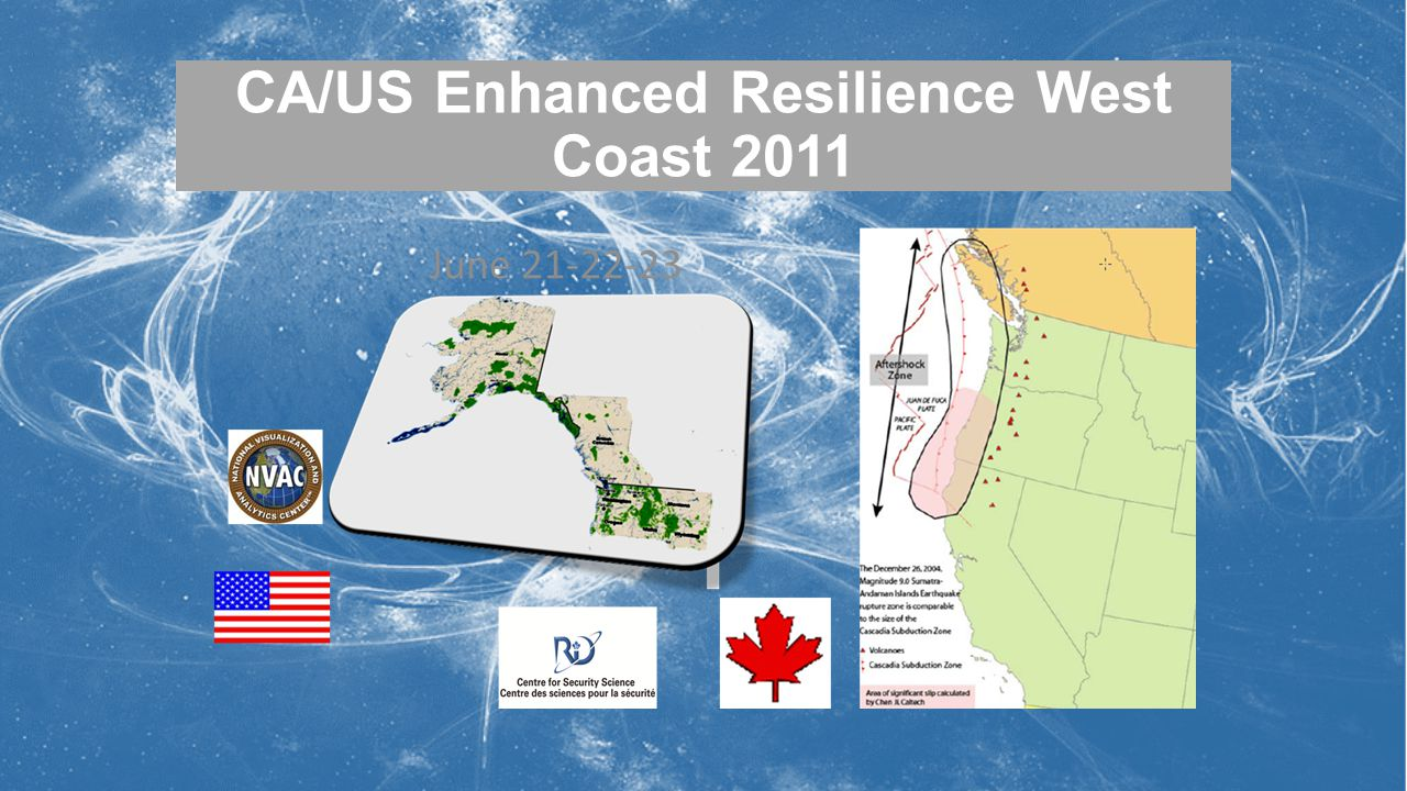 CA/US Enhanced Resilience West Coast 2011