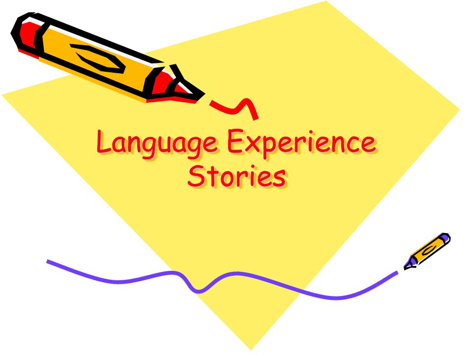 Experience Chart Stories These are your stories that you write from your experiences