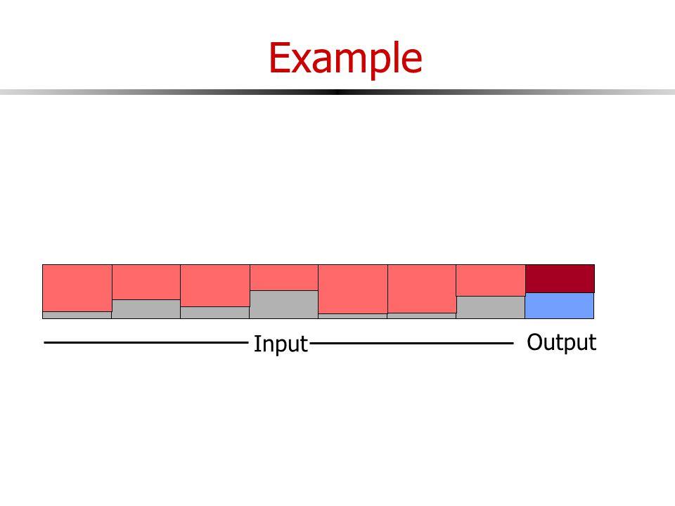 Example Input Output