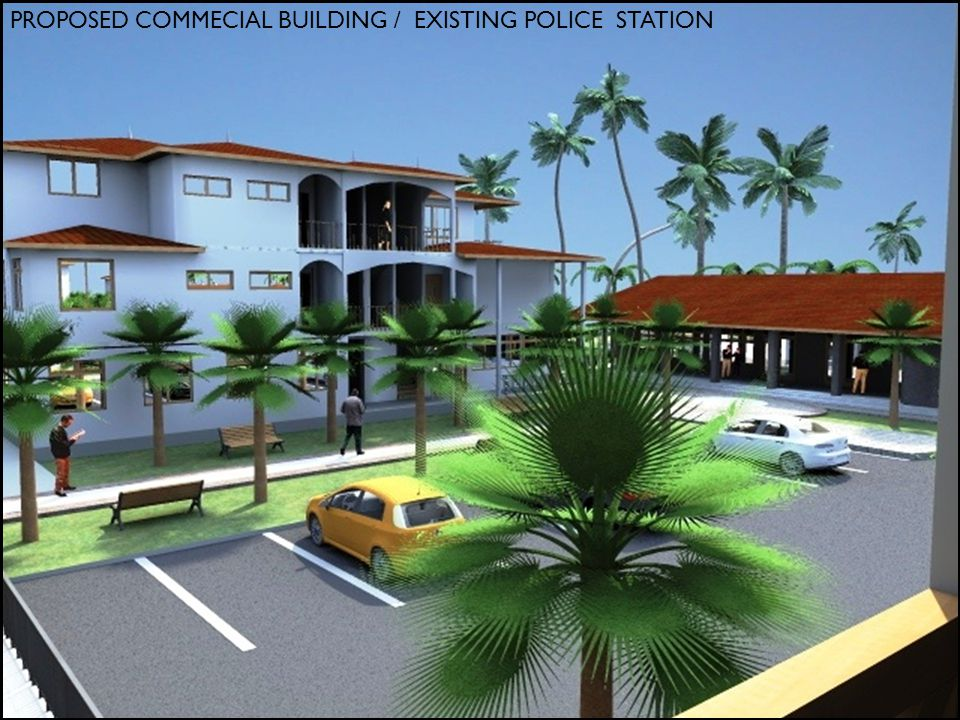 PROPOSED COMMECIAL BUILDING / EXISTING POLICE STATION