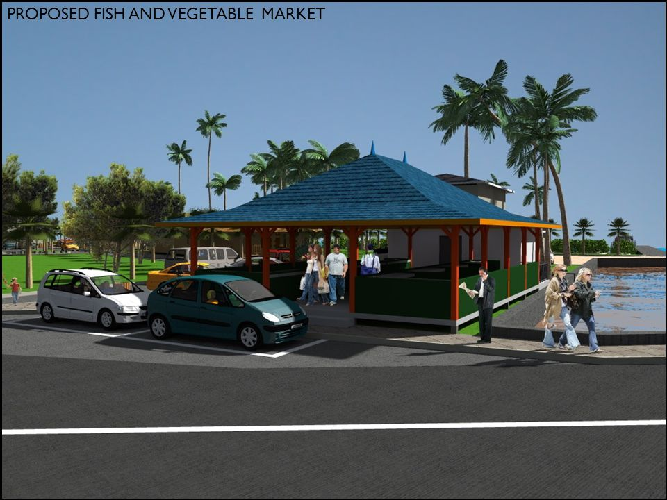 PROPOSED FISH AND VEGETABLE MARKET