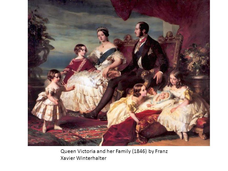 Queen Victoria and her Family (1846) by Franz Xavier Winterhalter