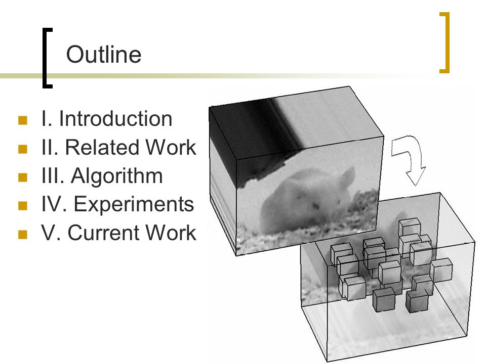 Current Work Niebles et al.