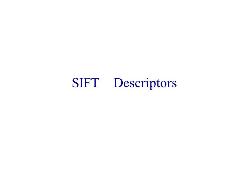 SIFT Descriptors