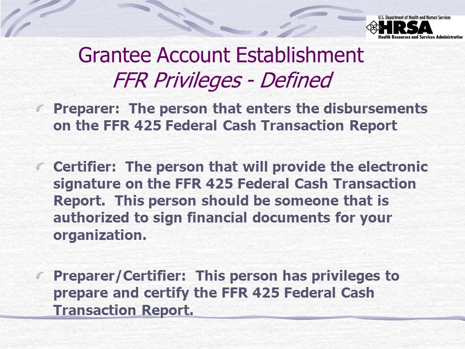 Verify that lines 10b and 10c are filled in correctly based on the FFR Attachment entries Note: Line 10a you can not change - Line 10a is equivalent to Line 3 on the PSC 272 Total Cash Available in the old reporting system.