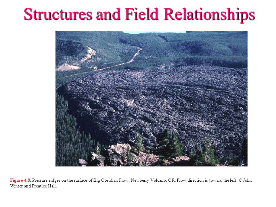 Structures and Field Relationships Figure 4.9.Development of the Crater Lake caldera.