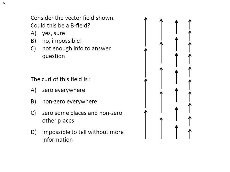 A) Could be E(r), or V(r) B) Could be E(r), but can t be V(r) C) Can t be E(r), could be V(r) D) Can t be either E) ??.