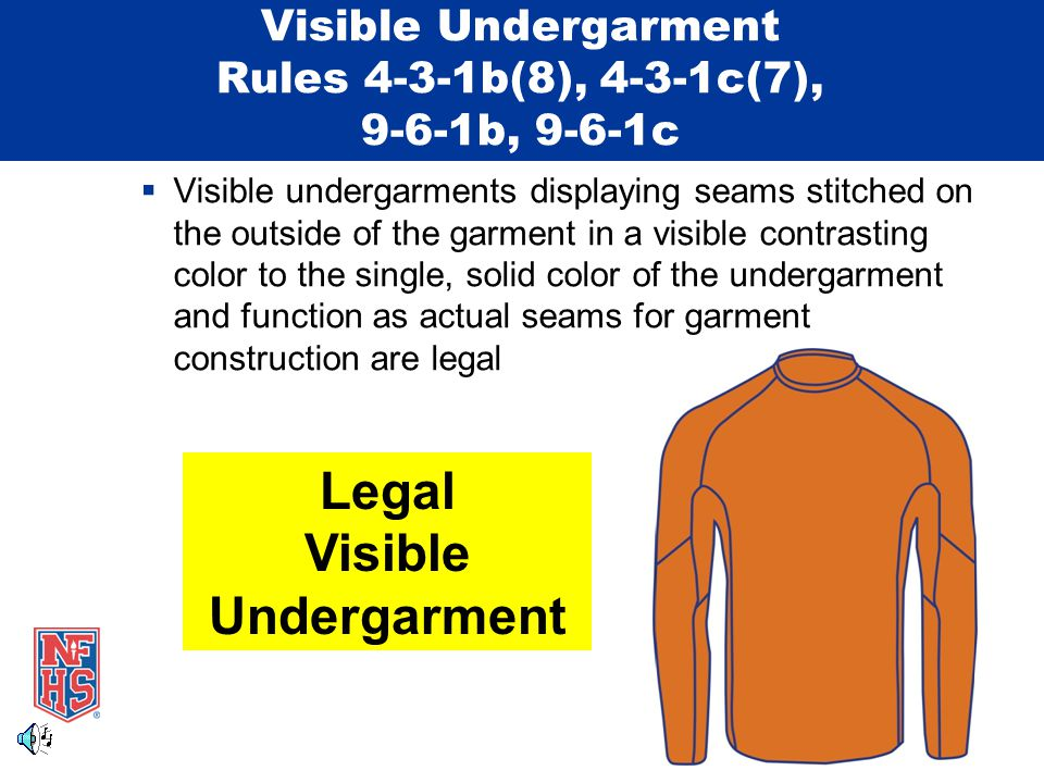 Competitor's Uniform – Jewelry Rules 4-3-3, 9-6-3, Penalties  Penalty for wearing jewelry in track and field or cross country has been modified and applies only to the competitor involved  When a meet official observes a competitor wearing jewelry in track and field, the official shall: for the first violation, require the competitor to remove the jewelry before further competition the competitor shall be issued a warning that a subsequent violation shall result in a disqualification from the event  The referee shall be notified of the violation by the observing meet official and he/she shall notify the coach of the offending school of the competitor's violation and warning