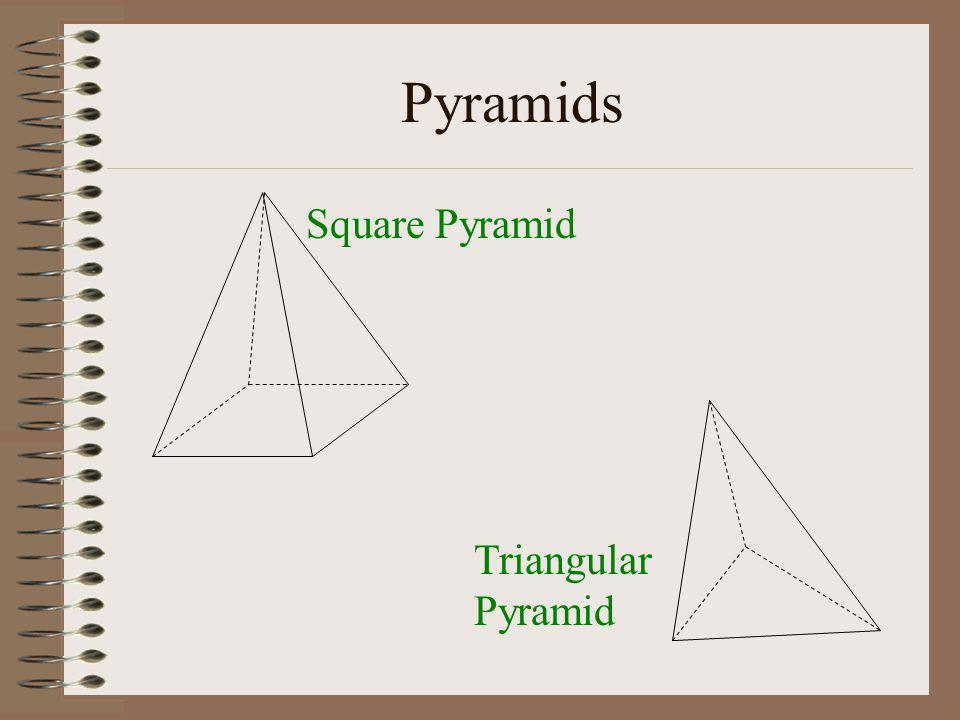 Pyramids Square Pyramid Triangular Pyramid