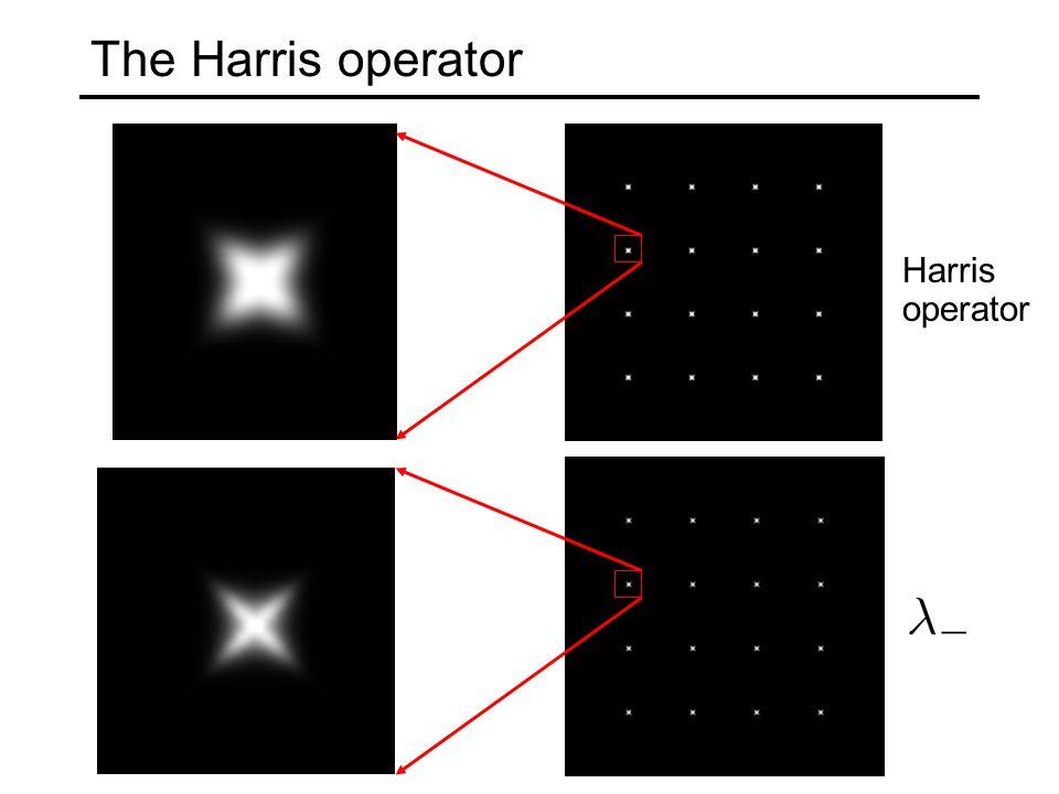 The Harris operator Harris operator