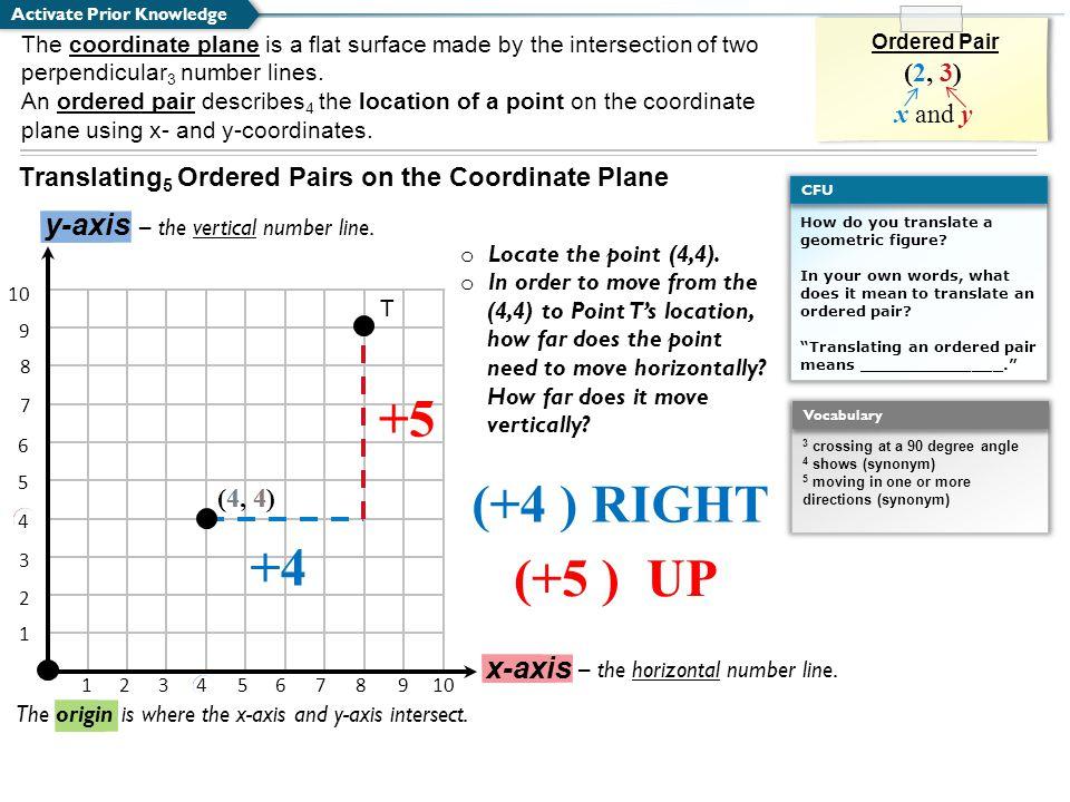 How do you translate a geometric figure.