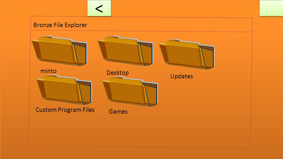 Bronze File Explorer C: 64 GB/256 GB