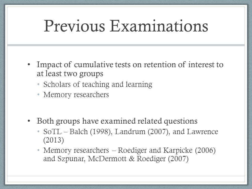 Pop quizzes - Questions Can ungraded pop quizzes lead to the same active retrieval benefits as do graded pop quizzes.