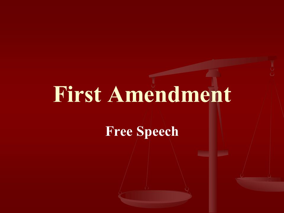 First Amendment Congress shall make no law respecting an establishment of religion, or prohibiting the free exercise thereof; or abridging the freedom of speech, or of the press; or the right of the people peaceably to assemble, and to petition the government for a redress of grievances.