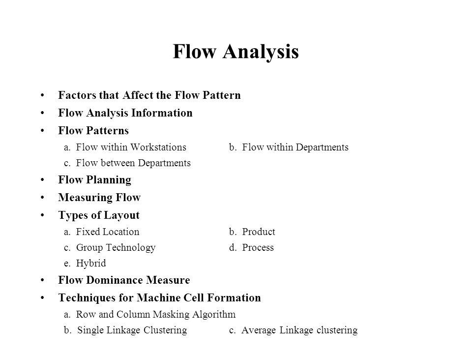 Process Layout (cont.) Advantages 1.