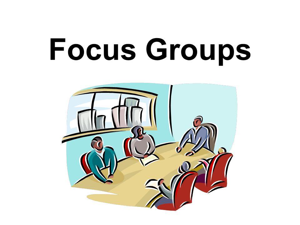 Program Development & Evaluation2 A Focus Group Is...