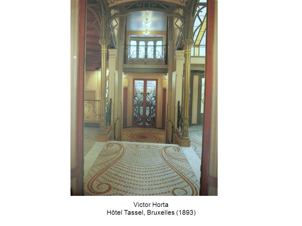 Victor Horta Hôtel Tassel, Bruxelles (1893)