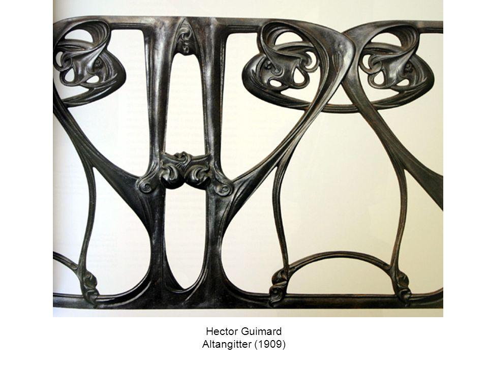 Hector Guimard Altangitter (1909)